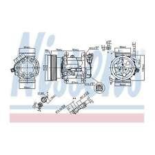 Fits Renault Clio MK3 1.4 16V Genuine OE Quality Nissens A/C Air Con Compressor