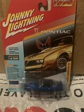 Johnny Lightning Classic Gold 1978 Pontiac Firebird Trans-AM Blue 2018