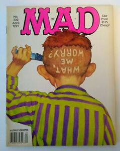 MAD Magazine April 1991 #302 MacGyver TV Show Parody Richard Dean Anderson