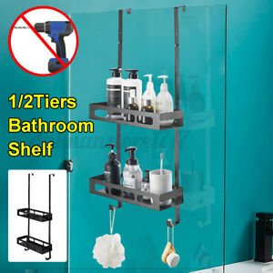 Caddy Hanging Bath Rack Bathroom Shower Shelf Shampoo Storage Holder Organizer