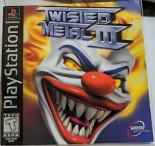Twisted Metal III Playstation 1 1998 Black Label Instruction Manual Only Booklet