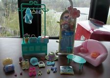Winx Club COOL FAIRY LOUNGE Doll Furniture Playset 2004 Rainbow Excellent Cond