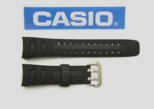 CASIO G-7600 G-Shock Original 16mm Black Rubber Watch Band Strap GW-002E G-7400