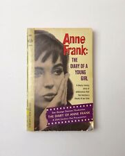Anne Frank: The Diary of a Young Girl paperback book vintage 1967 Holocaust