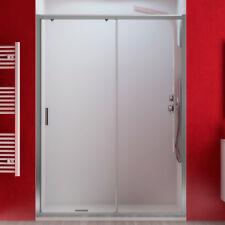 Porta doccia 120 cm nicchia scorrevole per box cristallo trasparente reversibile
