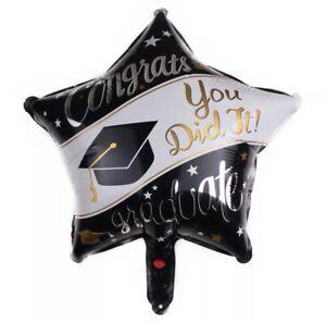 "18"" Foil Air / Helium Balloon Graduation Balloon Celebration Party Decorations"