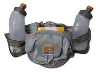 Nathan Trail Mix Energy Hydration Belt Gray Unisex OSFM 4618NGY