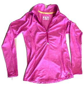 NEW BALANCE Half Zip Top Jacket running yoga sweat shirt gym Womens size M