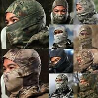 Multicam Camo Balaclava Military Army Tactical Hunt Full Face Mask Helmet Bike