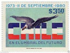 Chile 1980 #979 Septimo aniversario del Gobierno Militar - with Condor MNH