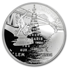 2018 France Silver €10 The 7 Arts (Apollinaire) - SKU#177611