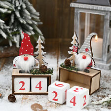Calendar Decorations for Home Noel Xmas 2021 New Year Gifts Santa Claus Dolls