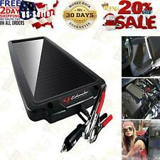 Battery Maintainer Solar Charger 12v Tender Car Trickle Motorcycle Boats Trucks