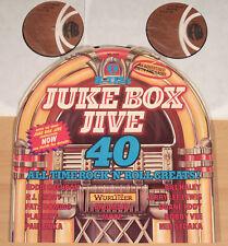 Juke box jive 40 (k-tel, uk 1976/Personnage-Shape Cover/2lp VG + +/M -)