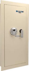 Barska Biometric Wall Safe w/ Fingerprint Lock, Left Side Opening, AX12880