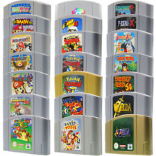 Nintendo 64 N64 Spiele über 60 Games Super Mario 64 Kart Party Smash Bros Zelda
