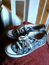 Coach Womens Sneakers. Beige/Brown. Barrett.  Size 7B.