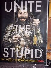 """NEW LOOT CRATE MAY 2015 EXCLUSIVE EDITION OF MAD MAGAZINE """"UNITE THE STUPID"""""""