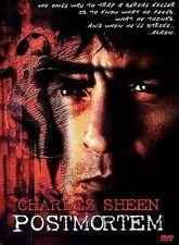 Postmortem (DVD, 1998) RARE OOP CHARLIE SHEEN 1998 THRILLER READ DETAILS SHIPS