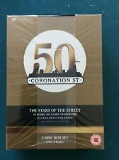 50 YEARS OF CORONATION STREET  (Region 2 dvd boxset)  *NEW SEALED*