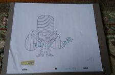 Original production drawing Powerpuff Girls (Cartoon Network) Mojo Jojo 2