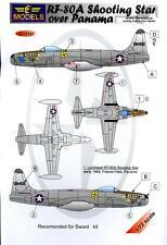 LF Models Decals 1/72 LOCKHEED RF-80A SHOOTING STAR OVER PANAMA