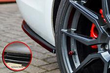 Heckansatz Pièces latérales ABS pour PEUGEOT 308gt SW Combi Facelift noir brillant