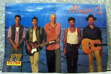 MIDNIGHT OIL Original TV Extra pin-up Poster 1980s  SirH70