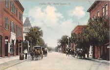 c.1910 Stores North Second St. Palatka FL post card