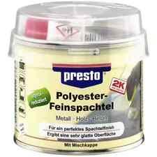 presto 2K Polyester-Feinspachtel & Härter 601211 250g STYROLREDUZIERT Motip