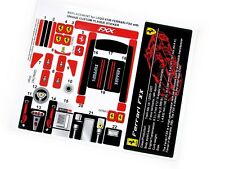 REPLACEMENT STICKERS for Lego 8156 FERRARI FXX with UNIQUE PLAQUE + NO CUTTING