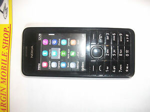 Nokia 301 - Black (EE, Orange, Virgin,T-Mobile Networks) Mobile Phone