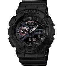 Casio G-Shock GA110MB-1A Black GA-110MB-1A Analog-Digital Military Watch