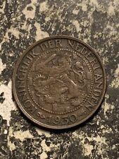1930 Netherlands 1 Cent Lot#Q7905