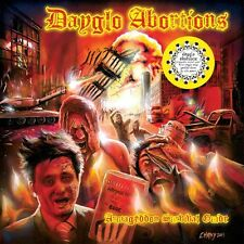 "Dayglo Abortions ‎– Armageddon Survival Guide 12"" Orange Vinyl / New (2016) Punk"