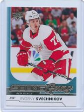 17/18 UPPER DECK YOUNG GUNS ROOKIE RC #224 EVGENY SVECHNIKOV RED WINGS *46556