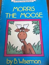 Teacher Big Book MORRIS THE MOOSE Kindergarten 1st Oversized SHARED READING