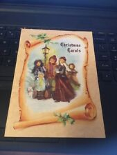 "Grand Award Christmas Carols Booklet 5""x7"" 12 popular Carols"