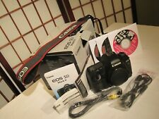 CANON EOS 5D Mark II 21.1 MP (Body Only) w/Box, CORDS, CDs, & PAPERWORK