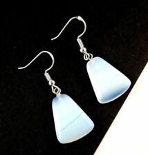 Hook Opalite Simulated Sterling Silver Fashion Earrings