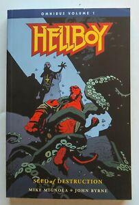 Hellboy Vol. 1 Seed of Destruction Dark Horse Graphic Novel Comic Book