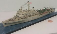1:700 Scale Built Plastic Model Ship LSD Landing Ship Dock Amphibious Assault