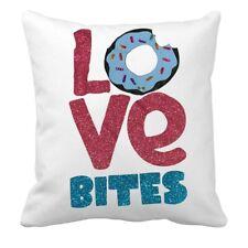 "16""x16"" Love Bites Pillow Case - Valentine Pillow Case"