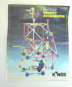 K'NEX HyperSpace Gravity Accelerator & Flight Simulator Instructions Manual Only