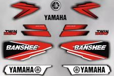 Decals graphic stickers yamaha banshee 350 yfz 350 1996 96 red