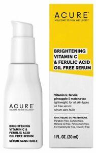 Acure Brightening Vitamin C & Ferulic Acid Serum 30ml