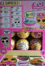 LOL Surprise PETS Full Case of 18 Yellow Balls Series 3 Just Released NEW SEALED