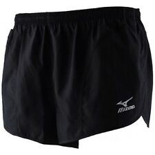 MIZUNO 52RM152-09 MENS WOVEN SHORT SOLID BRAND NEW WITH TAGS BLACK