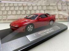 1/43 HI STORY HS015 RED 1990 MITSUBISHI GTO / 3000GT TWIN TURBO model car resin
