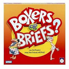 Board Game ~ BOXERS OR BRIEFS all pieces included COMPLETE ADULT PARTY GAME